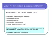 lecture_18_Introduction to Electroanalytical Chemistry
