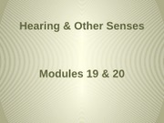 PSYC_2000_-_Hearing_and_Other_Senses