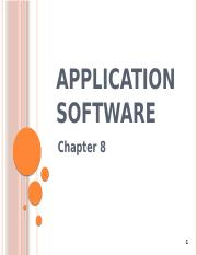 Chapter_8-Application_software