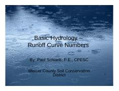 Soil Curve Number from njscdea.ncdea.org
