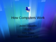 How Computers Work week2 assignment