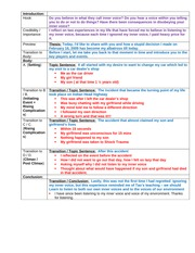 Narrative Speech Outline Sample _2_