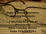 Right to Refuse Treatment (2)
