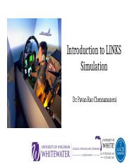 Introduction to Links Simulation