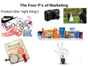 Ch. 2 Four Ps of Marketing PPT Slides