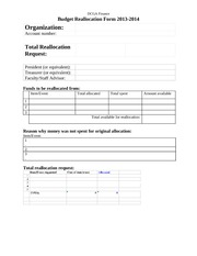 2013-14 Reallocation Request Form