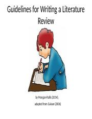 4 Guidelines for Writing a Literature Review.ppt