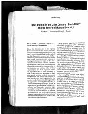Bauman  Murray_Deaf Studies in 21st Century.pdf