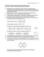 3_Chapter 16 HomeworkCH16 Electrical Energy and Capacitance