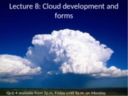 ESS 5 Earth Atmosphere lecture 8