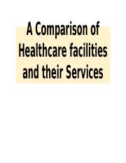 NR447 A Comparison of Healthcare Services.pptx