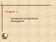 0-Introduction to Operations Management