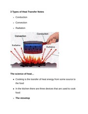 3 Types of Heat Transfer Notes