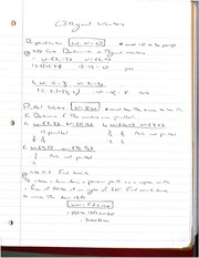 Orthogonal Vector Notes