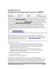 Assignment01 Question File S2 2015.docx