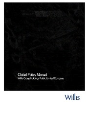 Global Policy Manual 0512