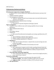 INFO 240 Notes module 3.docx