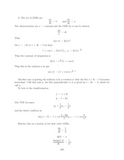 Differential Equations Lecture Work Solutions 248