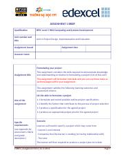 Project Design, Implementation and Evaluation_Assignment Brief 1.doc