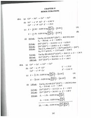 Solutions Manual Chapter 15