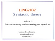 LING2032 lecture 11