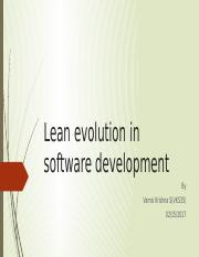 Lean evolution in software development.pptx