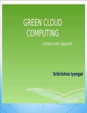 GREEN_CLOUD_COMPUTING