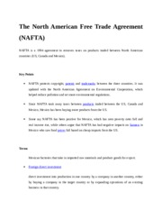 FALLSEM2015-16_CP0924_07-Sep-2015_RM01_The-North-American-Free-Trade-Agreement