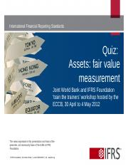 5.1 Quiz fair value measurement assets