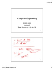 Lecture 8 Data Structures 22 Jan 14 annotated