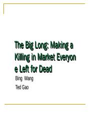 The Big Long