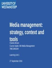 Strategy and the Media Firm.pptx