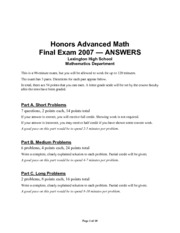 advmath-hon-finalexam2007-answers