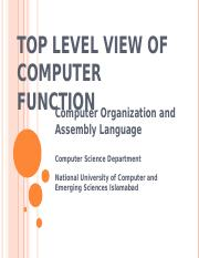 07-Top+Level+View+of+Computer+Systems+-I.ppt
