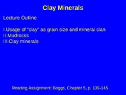 Lecture_7_Clay_Minerals