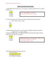 Final Exam Practice Problems_KEY