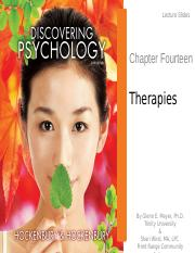 Chapter14-Therapies