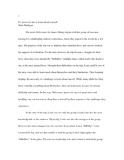 good country people essay good country people do they really  4 pages deliverance essay