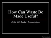 How can Waste be Made Useful_113 Prelab