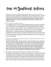 Case #4 Southwest Airlines PDF