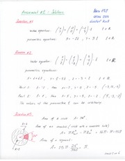 MATH 130 ASSIGNMENT 2 SOLUTIONS