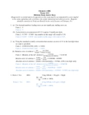 Midterm answer keys