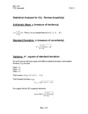 VLSI_Class_Notes_1_Statistical_Analysis_for_ICs