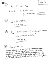 PHYS 131 Assignment Solutions (Polarization)
