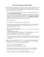 STAT 333 Assignment 2 solutions
