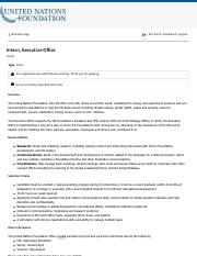 United Nations Foundation - Careers -Intern, Executive Office.pdf