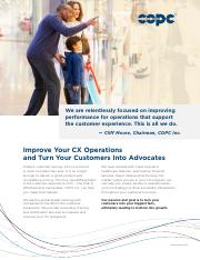 COPC Inc. Brochure_ Customer Experience (CX) Services