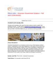 POLS 1101 American Government Syllabus Fall 2015 (81040).doc