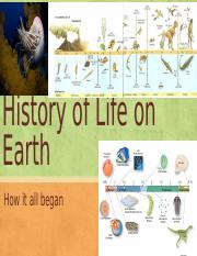 AP Biology - Lecture 15 - History of Life on Earth.pptx.pptx