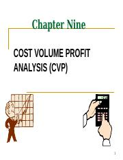 Chapter 9 - Cost_Volume_Profit_Analysis